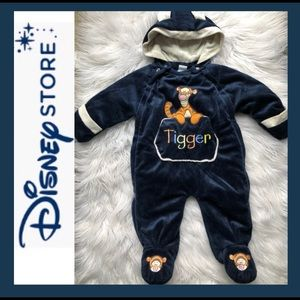DISNEY Tigger Velour Infant Bunting